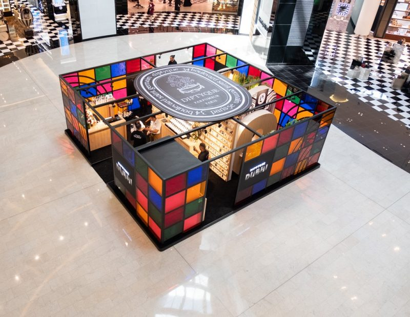 diptyque pop-up Dubai Mall | The Luxe Diary