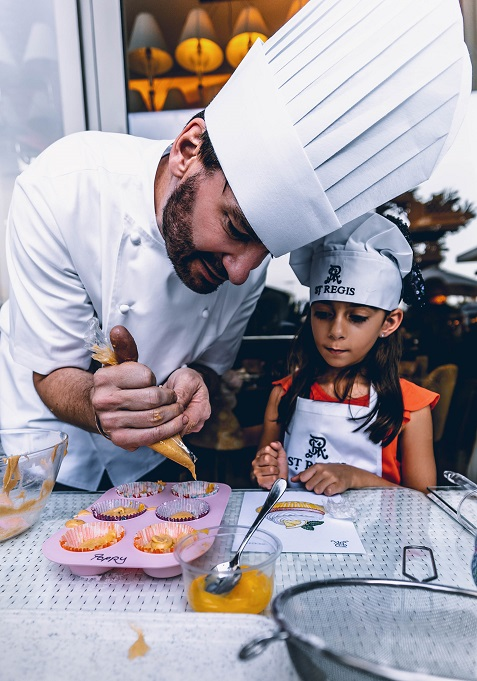 St. Regis Abu Dhabi Hosts 'Afternoon Tea' Masterclass | The Luxe Diary