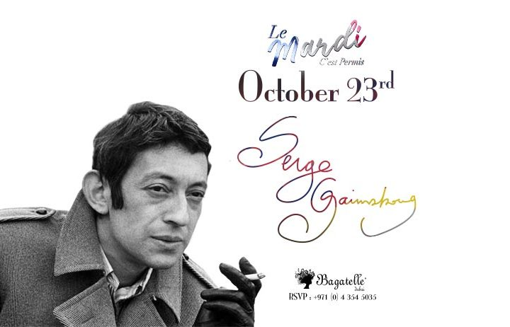Bistrot Bagatelle Hosts an Homage à Serge Gainsbourg | The Luxe Diary