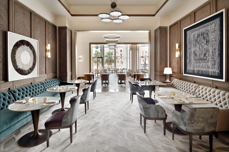 Britannia Brunch at the Address Downtown Dubai   Review   The Luxe Diary