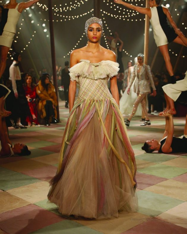 Dior's haute couture spring summer 2019 collection: An elegant circus of style and colour | The Luxe Diary